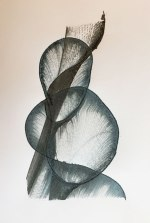 dark coiled string print