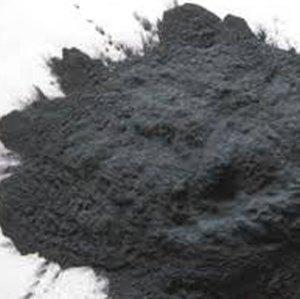 a pile of carborundum powder