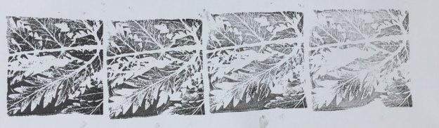 block prints getting lighter