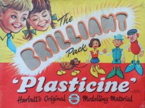 vintage plasticine packaging