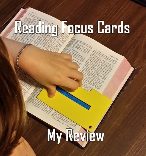 BJs Homeschool  Helping Struggling Readers with Reading Focus Cards