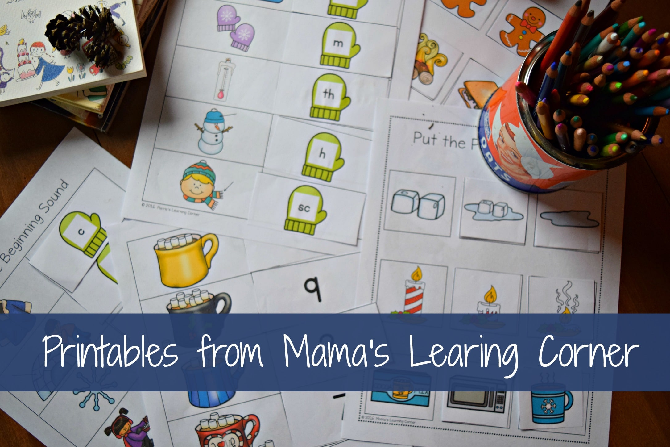 Printables From Mama S Learning Corner