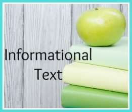 Informational Text Resources Free from The Curriculum Corner