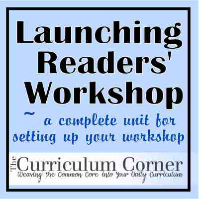 Launching Readers' Workshop