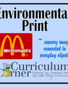 Creating sensory images through environmental print also narratives storytelling archives page of the curriculum rh thecurriculumcorner