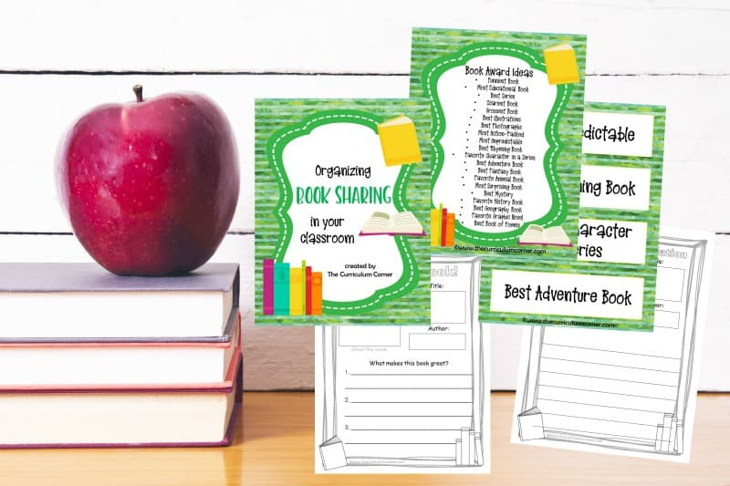 Students will enjoy these free book sharing resources as they look to recommend their favorite books to their classmates.