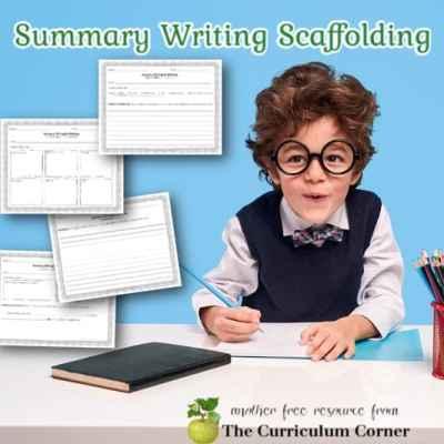 Summary Writing Scaffolding