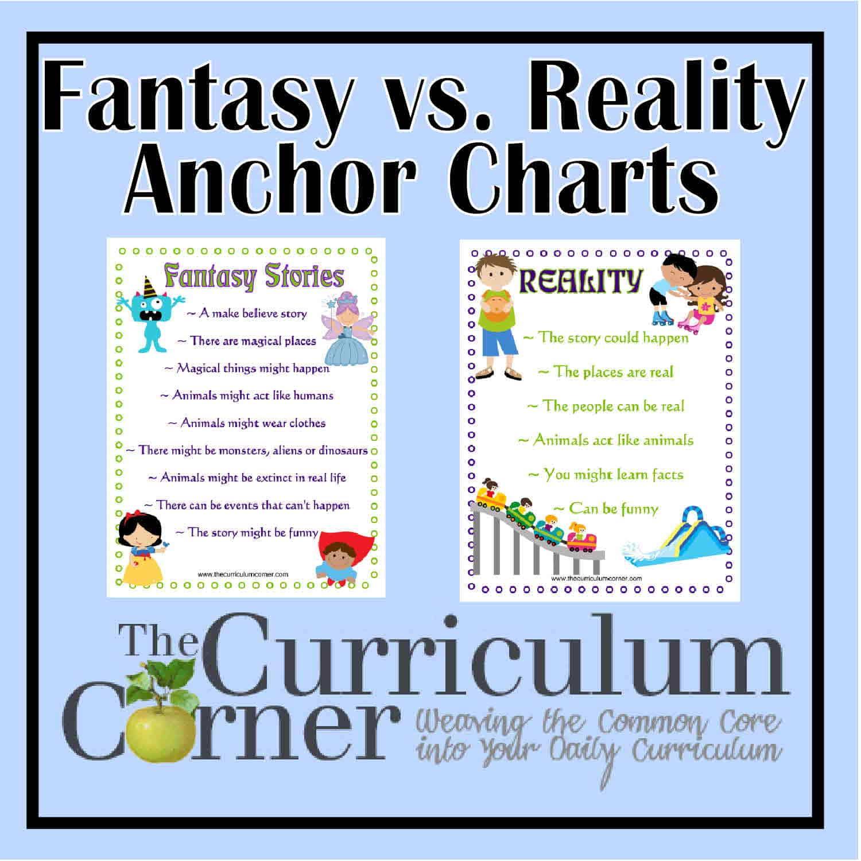 Fantasy \u0026 Reality Card Sort - The Curriculum Corner 123 [ 1500 x 1500 Pixel ]