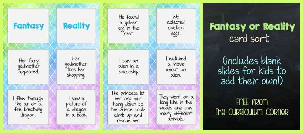 FREEBIE Fantasy Writing Unit of Study from The Curriculum Corner