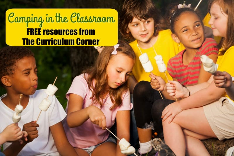 This camping in the classroom collection includes a wide range of activities for a unique classroom theme or a fun end of the year celebration.