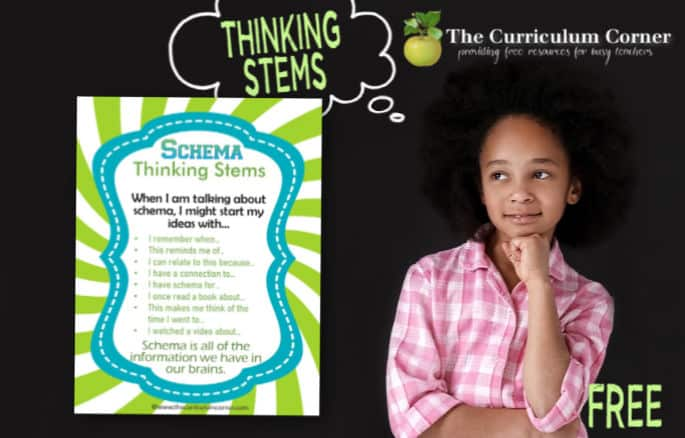 activating schema thinking stems