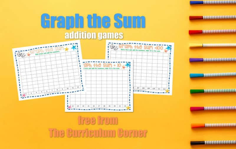 Graph the Sum Addition Games