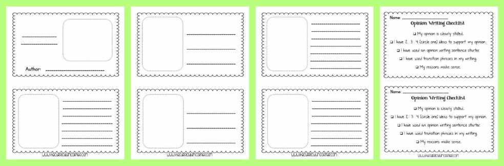 FREE Opinion Writing Unit of Study from The Curriculum Corner FREEBIE | blank books, mini-lesson & more