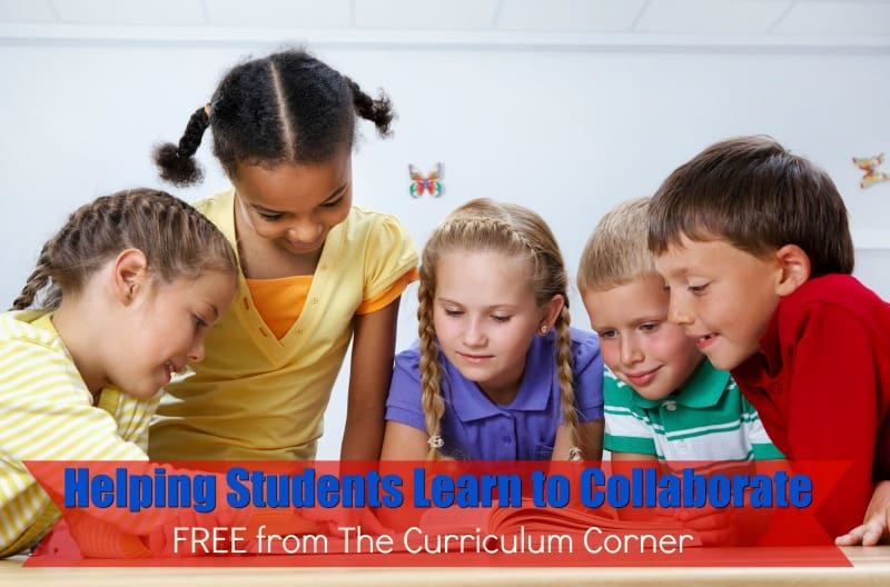 This free set of helping students collaborate is designed to help you work with your students as they work on developing collaboration skills.