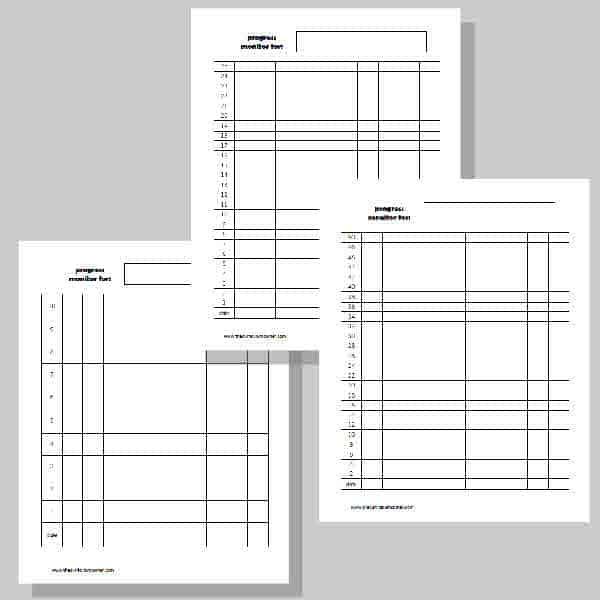 Student Data Binder Printables