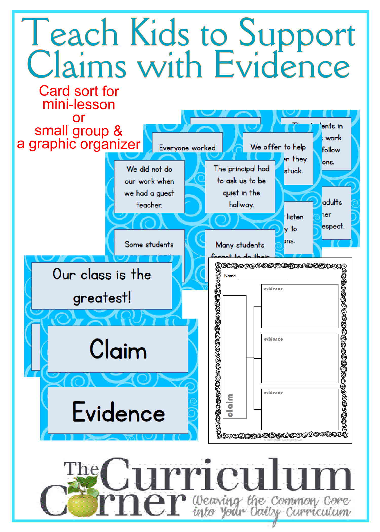Teaching Kids To Support Claims With Evidence
