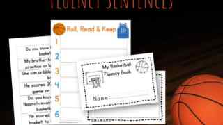 Basketball Fluency Sentences