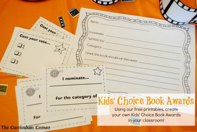 Create a Kids' Choice Book Awards in Your Class