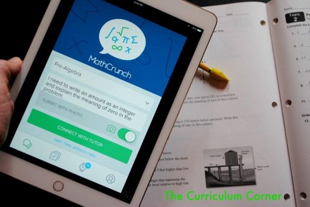 MathCrunch - an option for mobile tutoring!
