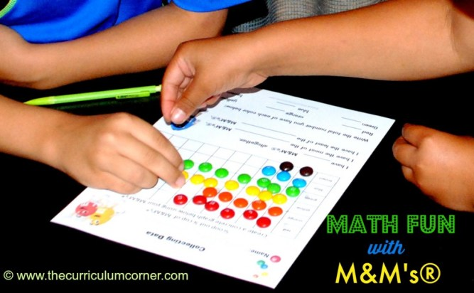 We have created this M&Ms Math post because learning with candy can be such a motivator for some reluctant learners.