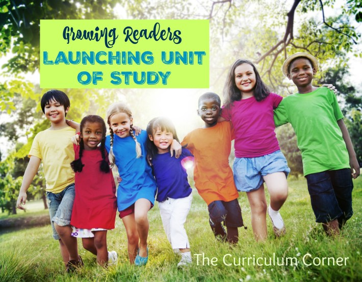 Growing Readers: Reading Workshop Unit of Study Launching Unit FREE from The Curriculum Corner