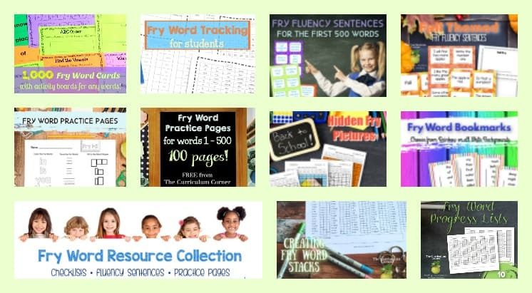 How can I help my child learn sight words?