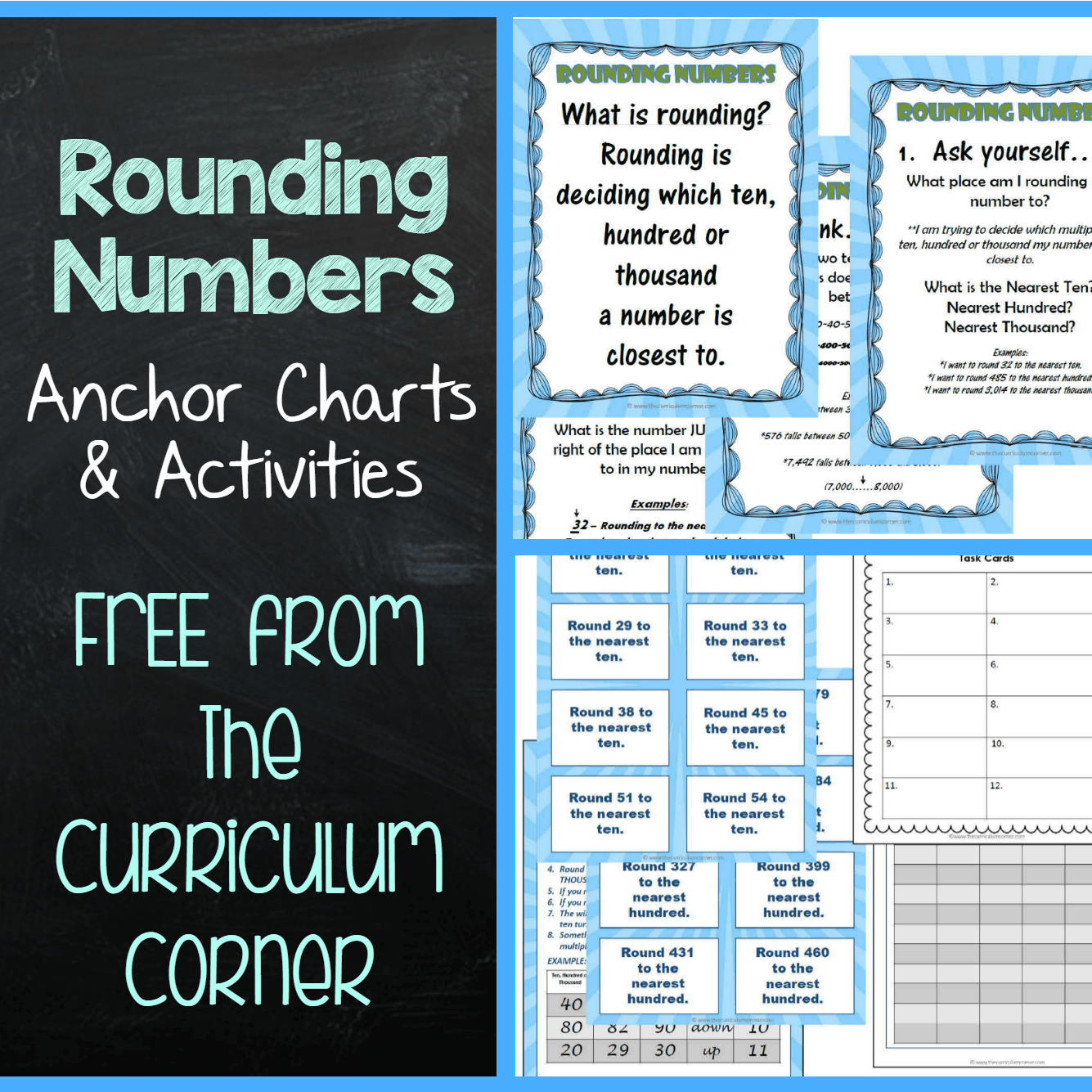 Rounding Anchor Charts Amp Activities