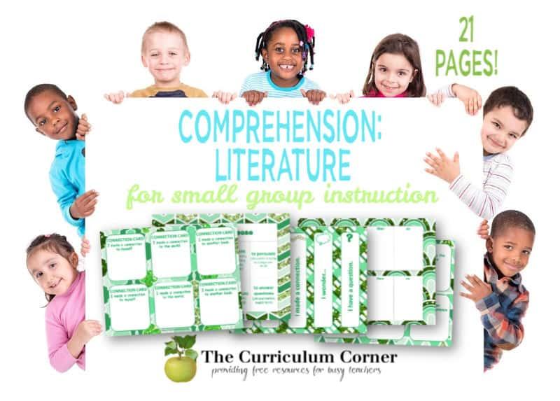 literature comprehension activities