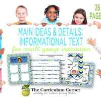 Main Ideas & Details in Informational Text