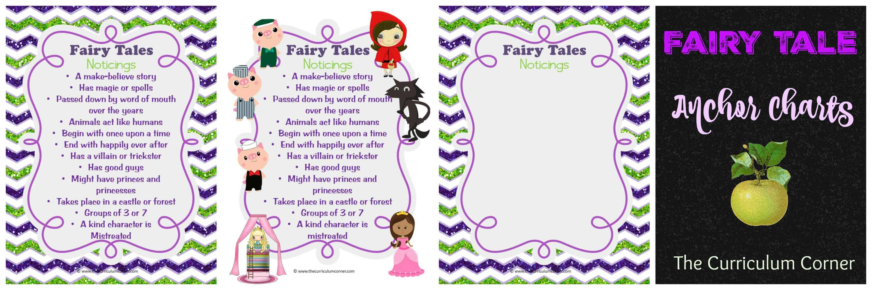 hight resolution of Fairy Tale Reading Unit of Study - The Curriculum Corner 123