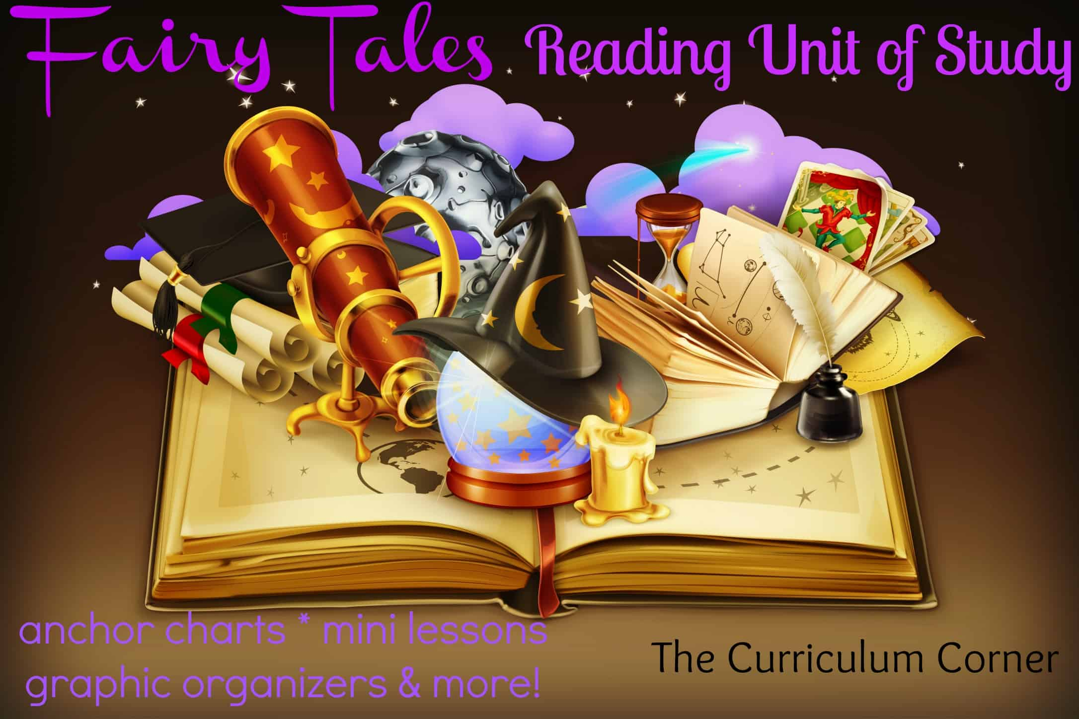 Fairy tale unit of study updated the curriculum corner 123 fairy tale reading unit of study free from the curriculum corner anchor charts graphic pronofoot35fo Choice Image