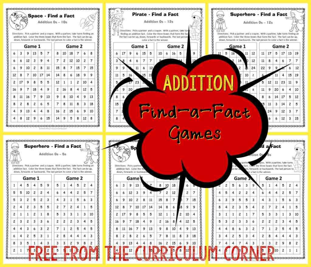 Free math games!