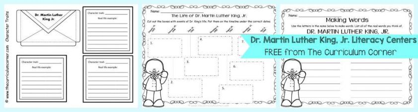 The Life Of Martin Luther King Jr Timeline Activities You Will Need To Make Copies Our MLK Information Pages For These