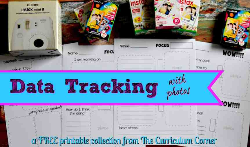 FREE Data Tracking Resources for the Classroom from The Curriculum Corner