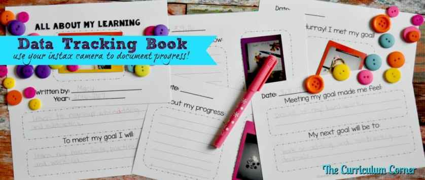 FREE Data Tracking Resources for the Classroom | Use photos to document learning with these printables | The Curriculum Corner | FREEBIE