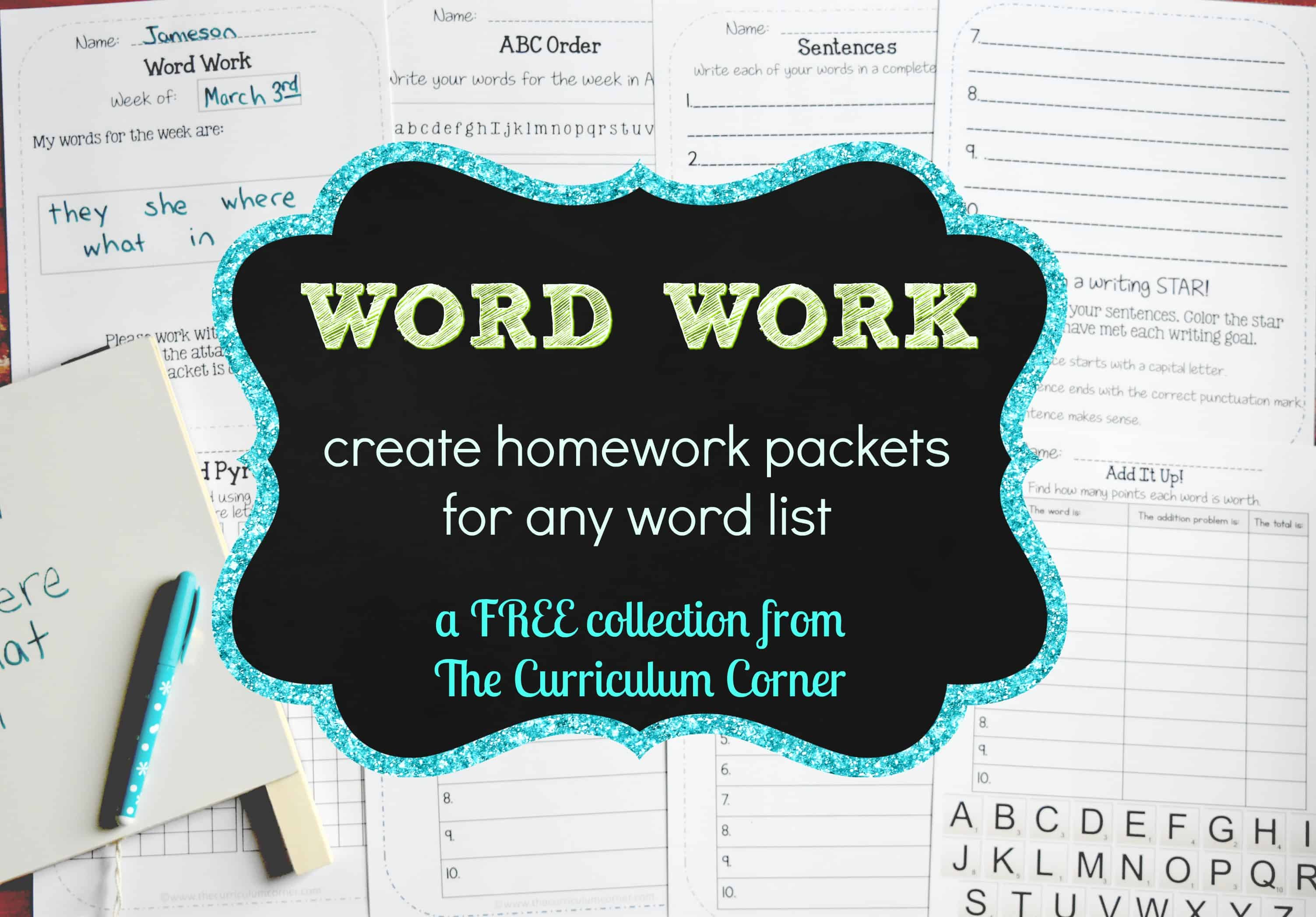 Word Work Archives