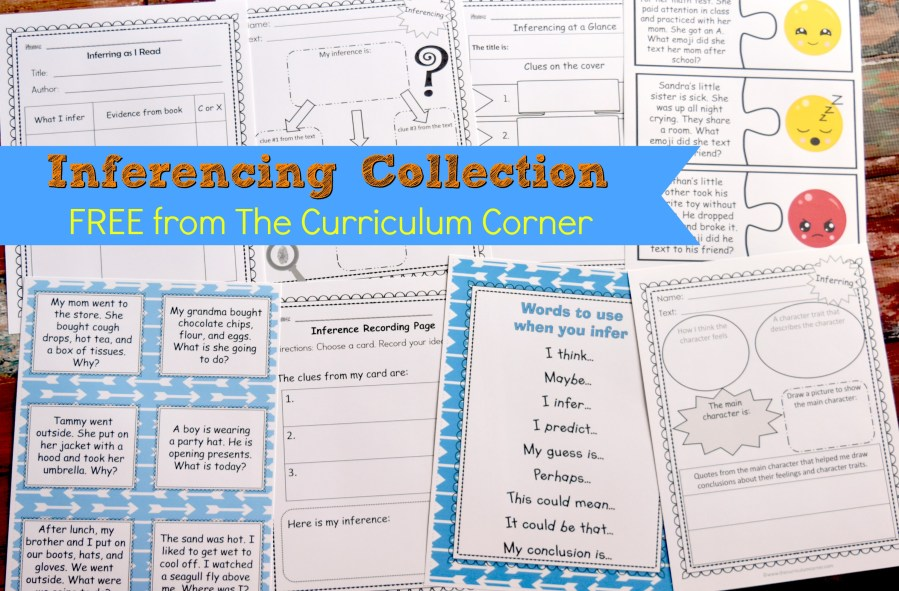 This collection of inferencing activities is meant to help your students understand what inferences are and how to make them!