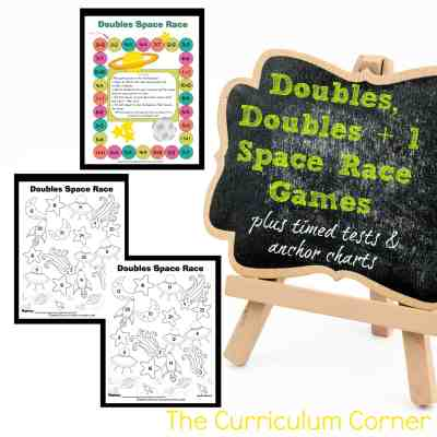 Doubles Addition & Doubles +1 Timed Tests