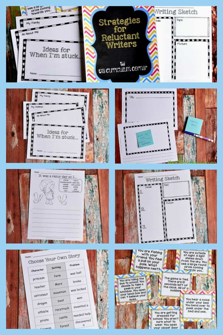 These free resources have been created to help those reluctant writers build their confidence and begin to have fun writing.