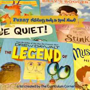 Funny Children's Books to Read Aloud by The Curriculum Corner