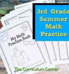 3rd Grade Standards Summer Math Practice - The Curriculum Corner 123 [ 1000 x 1000 Pixel ]