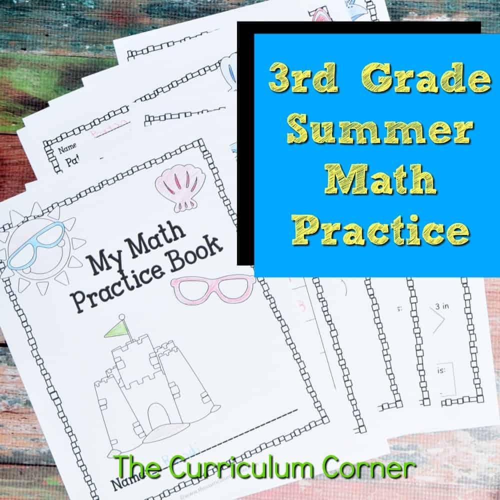 hight resolution of 3rd Grade Standards Summer Math Practice - The Curriculum Corner 123