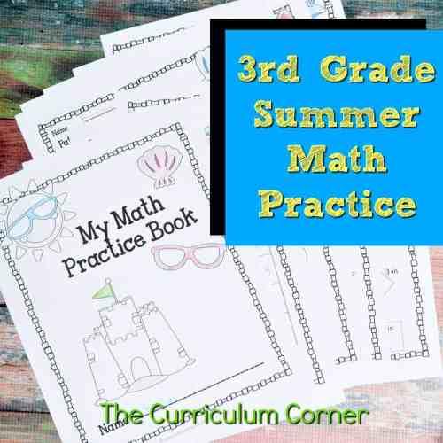 small resolution of 3rd Grade Standards Summer Math Practice - The Curriculum Corner 123