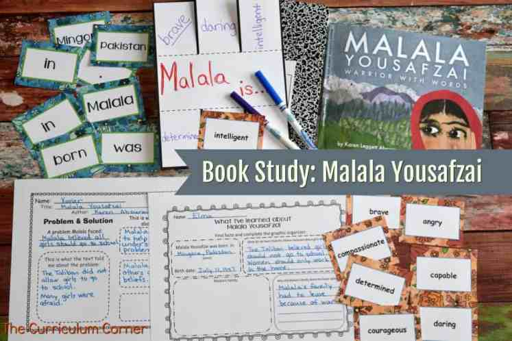 Book Study: Malala Yousafzai FREE from The Curriculum Corner 2