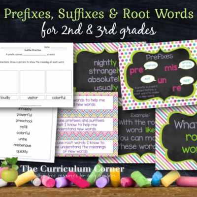 Root Words, Prefixes & Suffixes Collection
