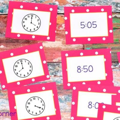 Telling Time – 2nd Grade