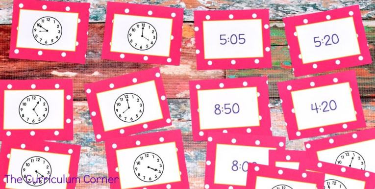 FREE Telling Time Resources for 2nd Grade Math | The Curriculum Corner | Centers