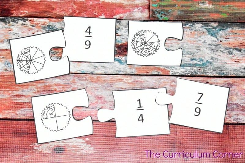 Understanding Fractions FREE from The Curriculum Corner | practice pages, assessments,exit tickets, instructional powerpoint 3