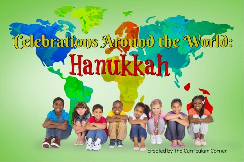 This Hanukkah Traditions booklet is designed to help you in a December celebration of holidays around the world. FREE from The Curriculum Corner!