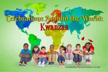 This Kwanzaa booklet is designed to help you in a December celebration of holidays around the world. FREE from The Curriculum Corner